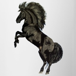 Black Stallion - Contrast Coffee Mug