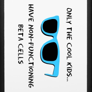 Only the Cool Kids - Blue Black - Type 1 Diabetes Accessories - iPhone 6/6s Rubber Case