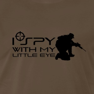 I Spy With My Little Eye - Men's Premium T-Shirt
