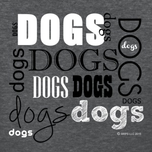 Dogs Words - Women's T-Shirt