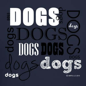 Dogs Words - Crewneck Sweatshirt