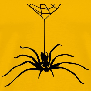 Spider Insect hallween horror cobweb T-Shirts - Men's Premium T-Shirt