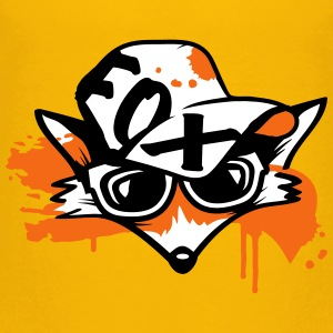 fox with a baseball cap and sunglasses Baby & Toddler Shirts - Toddler Premium T-Shirt