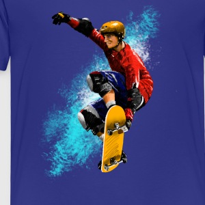 skateboarding Baby & Toddler Shirts - Toddler Premium T-Shirt