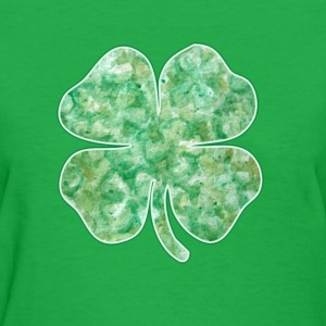 Artsy Shamrock  - Women's T-Shirt