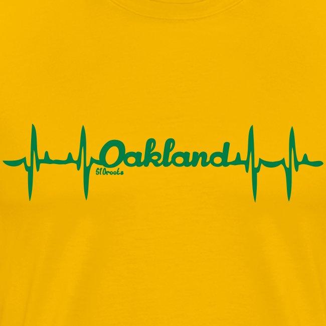 my heart beats Oakland