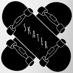 Skater Skateboards Mugs & Drinkware - Coffee/Tea Mug
