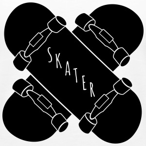Skater Skateboards Tanks - Women's Premium Tank Top