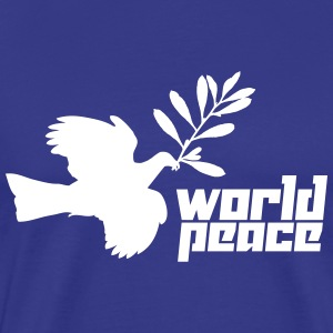World Peace (Vector) - Men's Premium T-Shirt