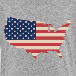 United States Flag - Kids' Premium T-Shirt