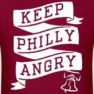 Keep Philly Angry T-Shirts - Men's T-Shirt