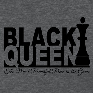 Black Queen Most Powerful Piece in the Game Tees - Women's T-Shirt
