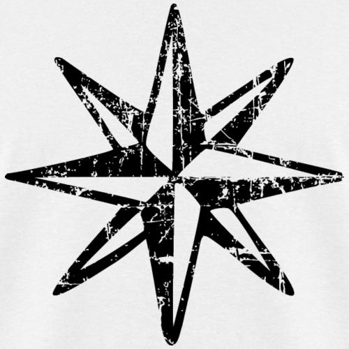 Compass Rose Vintage monochrome