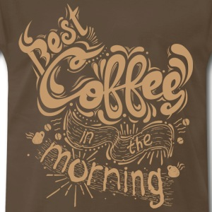 Best Coffe - Men's Premium T-Shirt