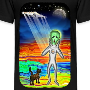 Alien Cat Scream. - Toddler Premium T-Shirt