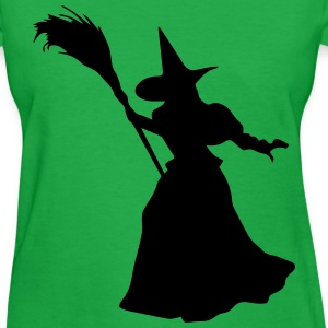 Witch Broom Walk - Women's T-Shirt