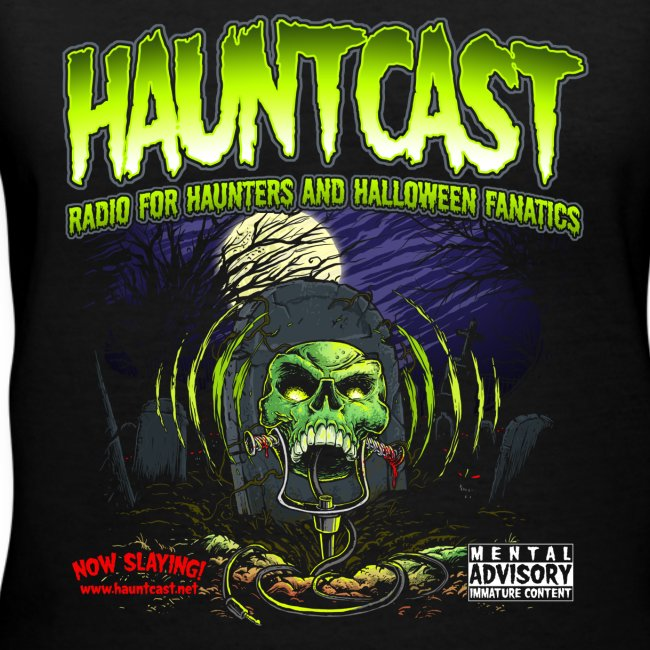 Hauntcast Women's V Neck