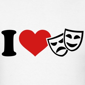 I love Theater T-Shirts - Men's T-Shirt