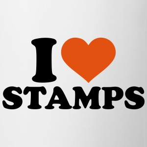I love stamps Mugs & Drinkware - Coffee/Tea Mug