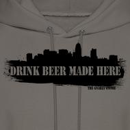 Design ~ Drink Beer Made Here Hoodie