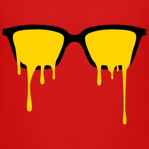 Psychedelic nerd glasses with LSD color drops Kids' Shirts - Kids' Premium T-Shirt