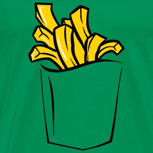FRENCH FRIES POCKET KID PREMIUM T SHIRT - Men's Premium T-Shirt