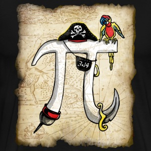 Pirate Pi Day 2 - Men's Premium T-Shirt