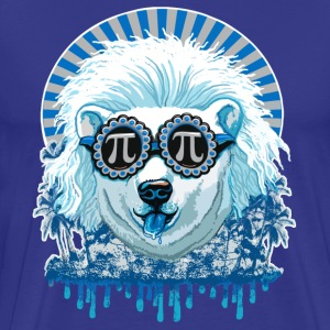 Pi Polar Bear - Men's Premium T-Shirt
