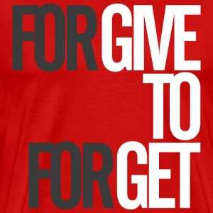 Forgive to Forget t-shirts - Men's Premium T-Shirt