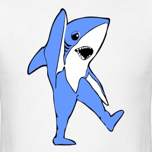 Left Shark Funny Halftime Forgotten Dance Moves - Men's T-Shirt