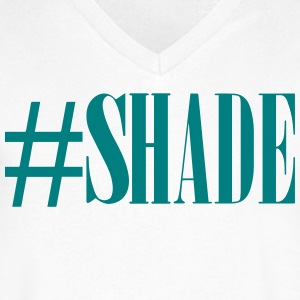 #SHADE T-Shirts - Men's V-Neck T-Shirt by Canvas
