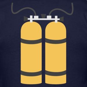 Diving bottles - Men's T-Shirt