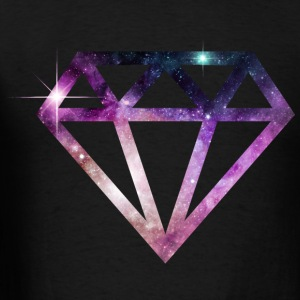cosmic fantasy diamond - Men's T-Shirt