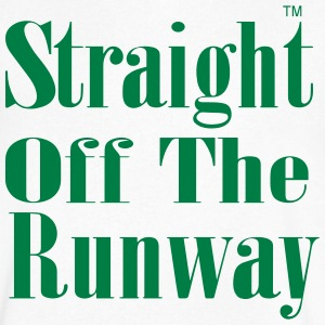 STRAIGHT OFF THE RUNWAY T-Shirts - Men's V-Neck T-Shirt by Canvas