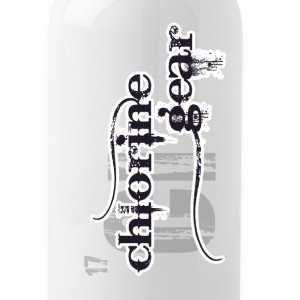 Chlorine Gear Textual Logo Mugs & Drinkware - Water Bottle