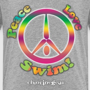 Peace Love Swim Baby & Toddler Shirts - Toddler Premium T-Shirt