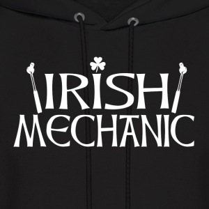 Irish Mechanic back Hoodies - Men's Hoodie