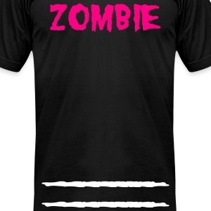 Zombie Stripe - Men's T-Shirt by American Apparel