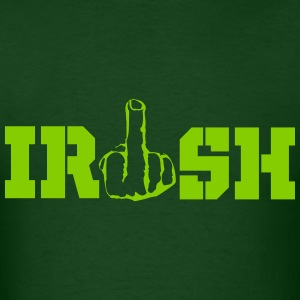 IRISH Middle Finger T-Shirts - Men's T-Shirt