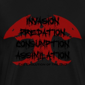 Tyranid Stages of Invasion - Men's Premium T-Shirt