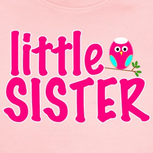 Little Sister Owl   - Short Sleeve Baby Bodysuit