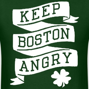 Keep Boston Angry T-Shirts - Men's T-Shirt