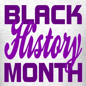 Black History Month 2015 Design for T-Shirts - Men's T-Shirt