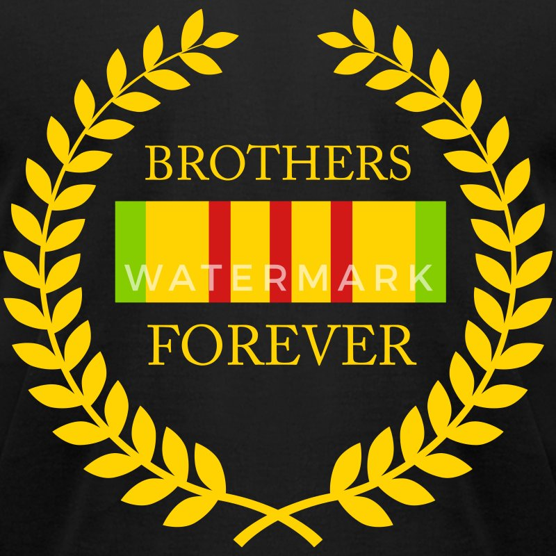Vet Brothers Forever T-Shirts - Men's T-Shirt by American Apparel