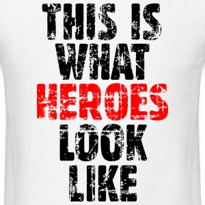 Hero T-Shirt  (White) Vintage - Men's T-Shirt