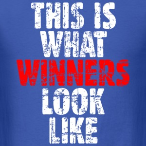Winner T-Shirt (Blue/Vintage) - Men's T-Shirt