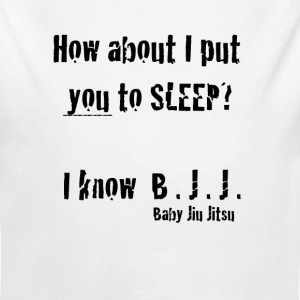 How about I put you to sleep? I know Baby Jiu Jits - Long Sleeve Baby Bodysuit