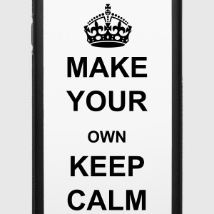 Make Your Own Keep Calm - Customized iPhone Case - iPhone 6/6s Rubber Case