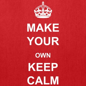 Make Your Own Keep Calm - Bag Template - Tote Bag