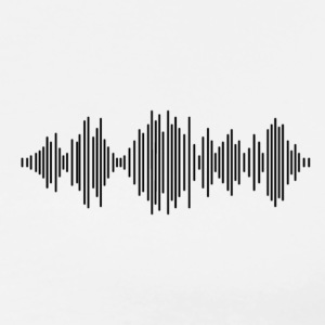 Sound Wave T-Shirt - Men's Premium T-Shirt